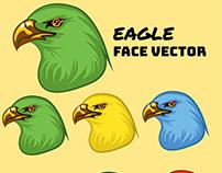 Eagle Face Illustration
