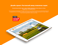 Дизайн проект - plavsyr.ru