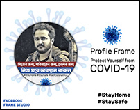 COVID-19 Awareness Profile Frame