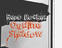 LRC Type - Repo Pocket Outline Shadow (Free)