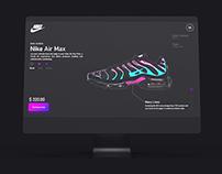 Nike Landing Page Re-Design