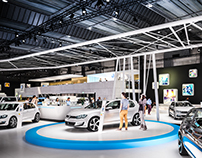 Volkswagen @ Brussels Car Show 2017 (UV)