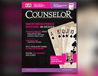 Counselor Magazine Oct 14 Layout & Design