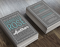 Danielle Rose - Business Card Design
