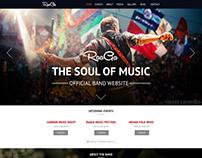 Raaga - Music & Band Website Template