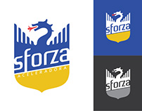 Sforza Aceleradora Logo Studies