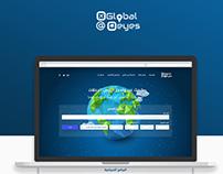 Traveling website design - Global eyes