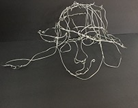 Wire Self Portrait