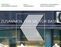 Basler Kantonalbank Web Design