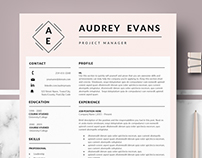 Professional & Creative Resume template - Auredy