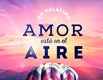 Campaña amor y Amistad - Centro Comercial Palatino