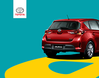 Toyota Yaris Magazine Ad Paving Your way To Style