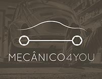 Mecânico 4You Logo & Website