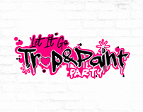 Trap & Paint | Wordmark Logo