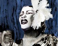 Billie Holiday - Jazz&Draw