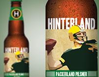 Hinterland Beer Labels