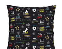 Big Bang Theory Fabric Designs
