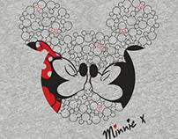 Disney - Mickey & Minnie Winter 15 - Print