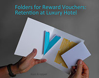 Luxury Hotel: Reward Folders for Loyalty Program