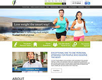 Fitness Trainer Web Design