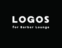 Logos for Barber Lounge