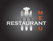 Restaurant menu design template