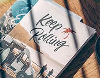 Letterings & Spot Illus for Sunlight Campervans
