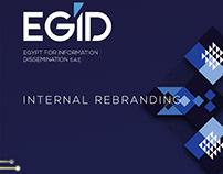 EGID internal rebranding and interior design