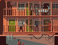 Scene #58: 'Sunset Motel'