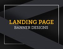 Landing Page | Banner Designs