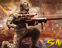 Sniper Game UI And Graphics