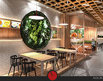 Meet Me Restaurant - Cafe Interior Design