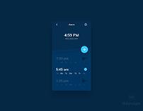 Day 476: Alarm UI Design