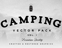 Camping & Hiking Vector Pack