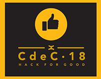 CdeC HACK FOR GOOD 2018: Finalistas