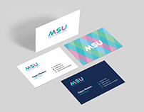 Medical Support Union - Business Card Design