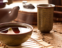 Ikatti Tea Package Design