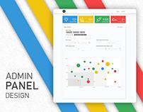 Admin Panel Design