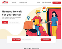 Courier and Parcel delivery website