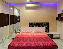 A TRIPLEX VILLA NEAR SUNCITY, HYDERABAD