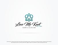 Love Me Knot Logo (Event Management Service)