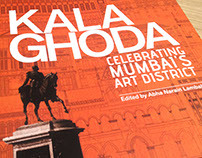 Coffee table book about the Kala Ghoda area of Mumbai