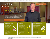 Responsive Web: York Allergy & Asthma