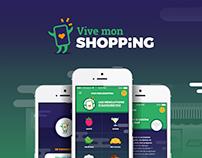 Vive mon shopping I Apps design
