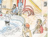 Pool drawings