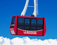 Pal-Arinsal Ski Poster