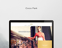 Web Design for Coco Park