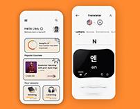 Language learner app