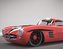 Mercedes Benz 300SL Mermac Edition