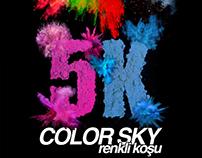 Color Sky 5k Renkli Koşu